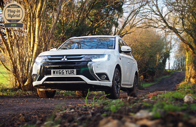 Mitsubishi Outlander PHEV AutoVolt Awards 2016