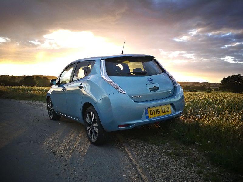 OY16XLO Nissan Leaf 30kWh