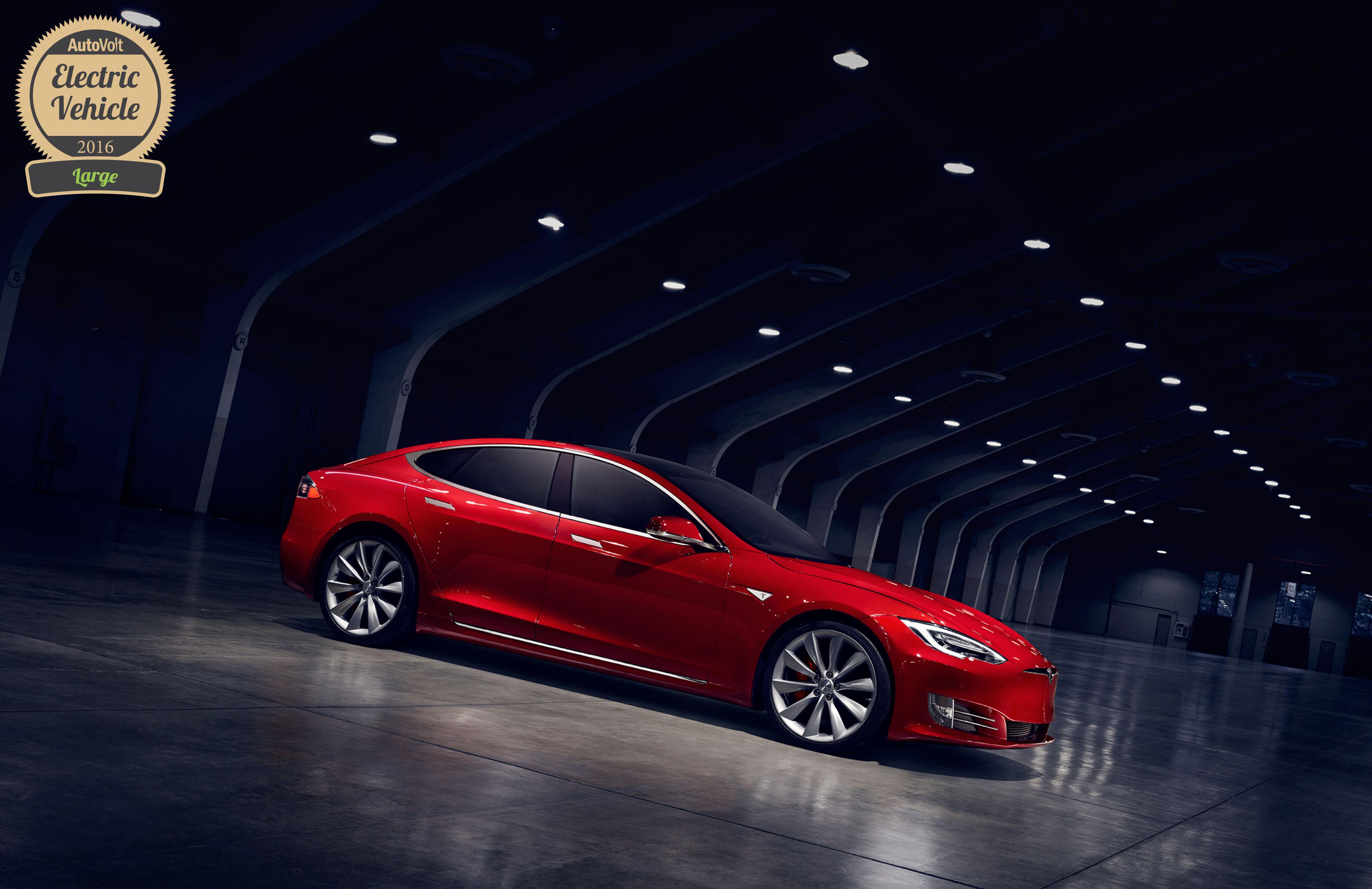 Tesla model s awards