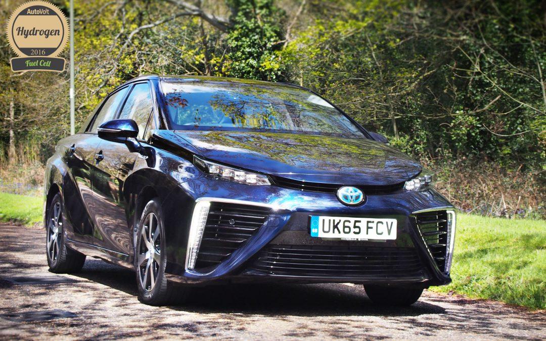 2016 AutoVolt Awards Winner: Toyota Mirai