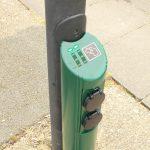 Evolt Lamp post charger