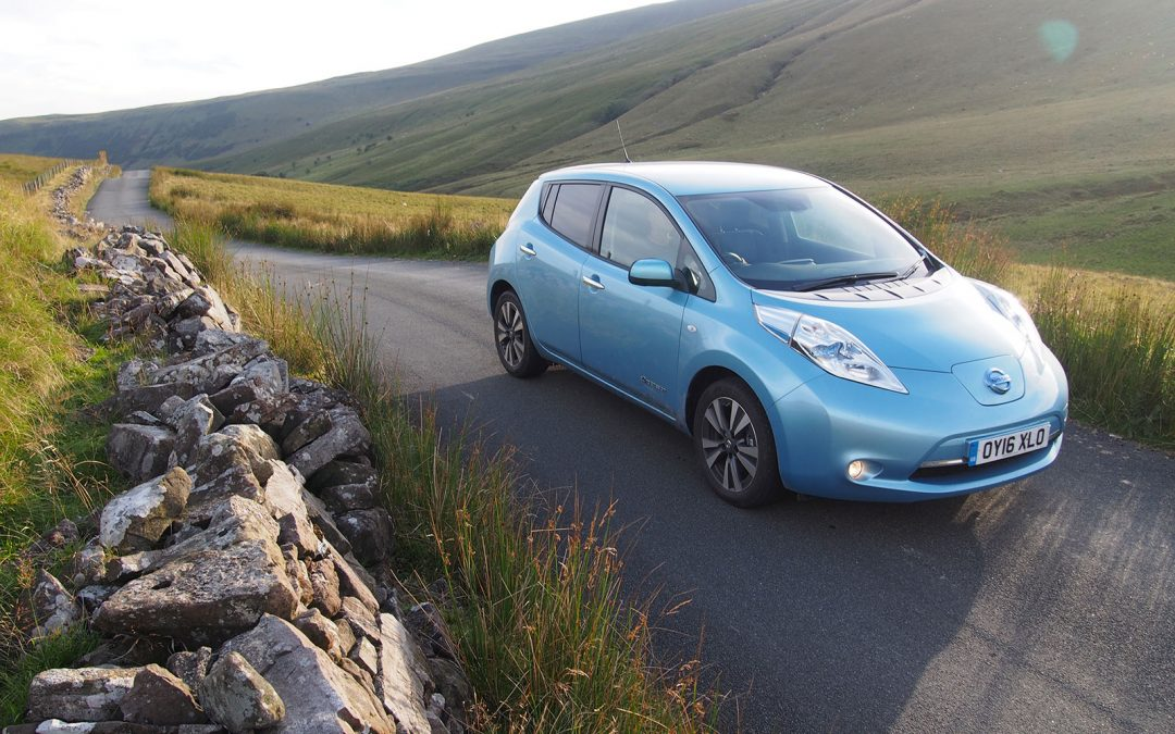 An Electric Road Trip to Wales