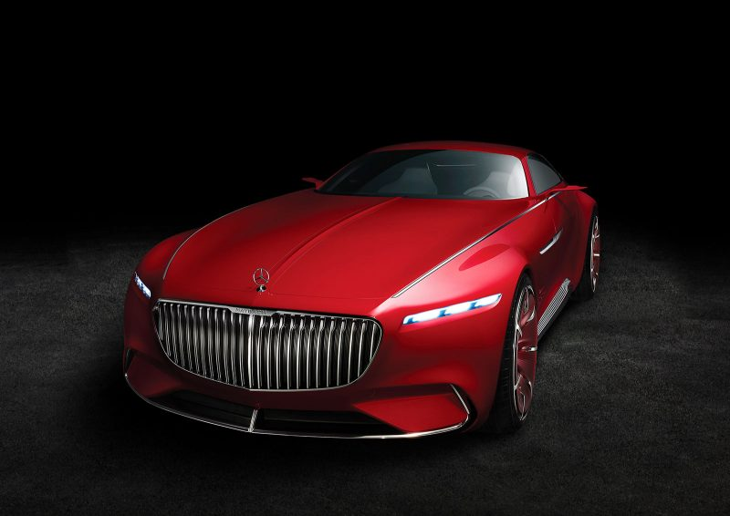 The Vision Mercedes-Maybach 6