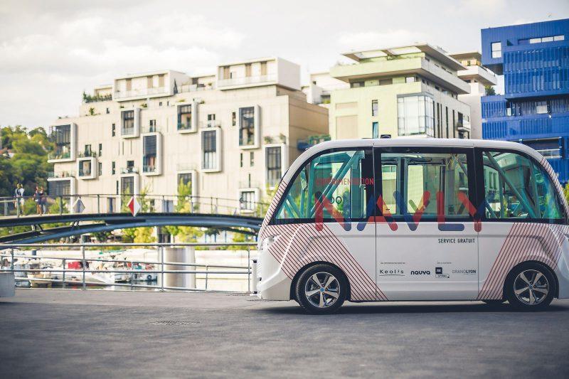 NAVLY - World's first autnomous electric public transport service