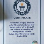 3 Father and Son Set New Guinness World Record in Electric Car