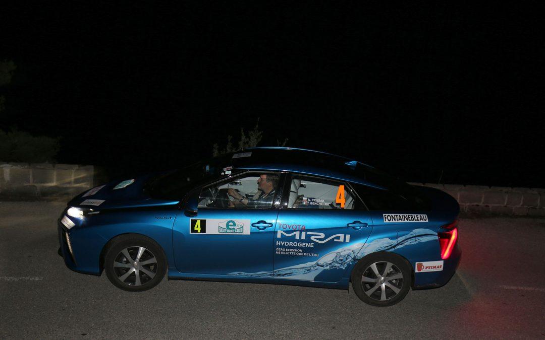 e-Rallye Monte-Carlo 2016 Won by Toyota Mirai