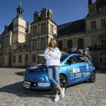 2016 e-Rallye Monte Carlo - Adriana Karembeu and Renault ZOE Z.E. 40 (CREDIT:JO LILLINI/AUTOMOBILE CLUB DE MONACO)
