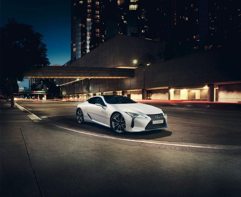 Lexus LC 500h Launch Edition
