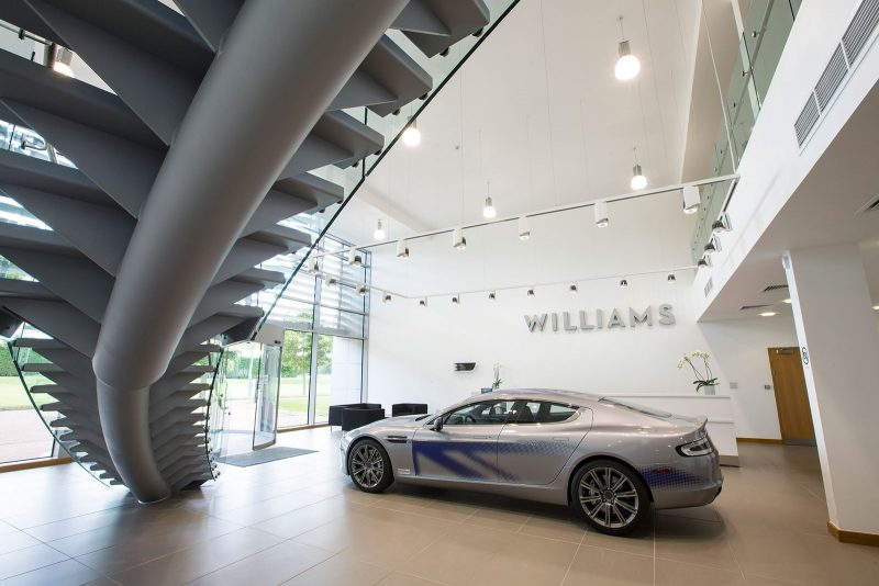 Aston Martin RapidE at Williams Advanced Engineering, Grove