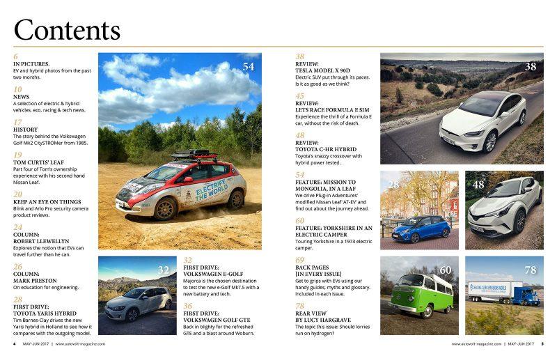 Autovolt 18 contents