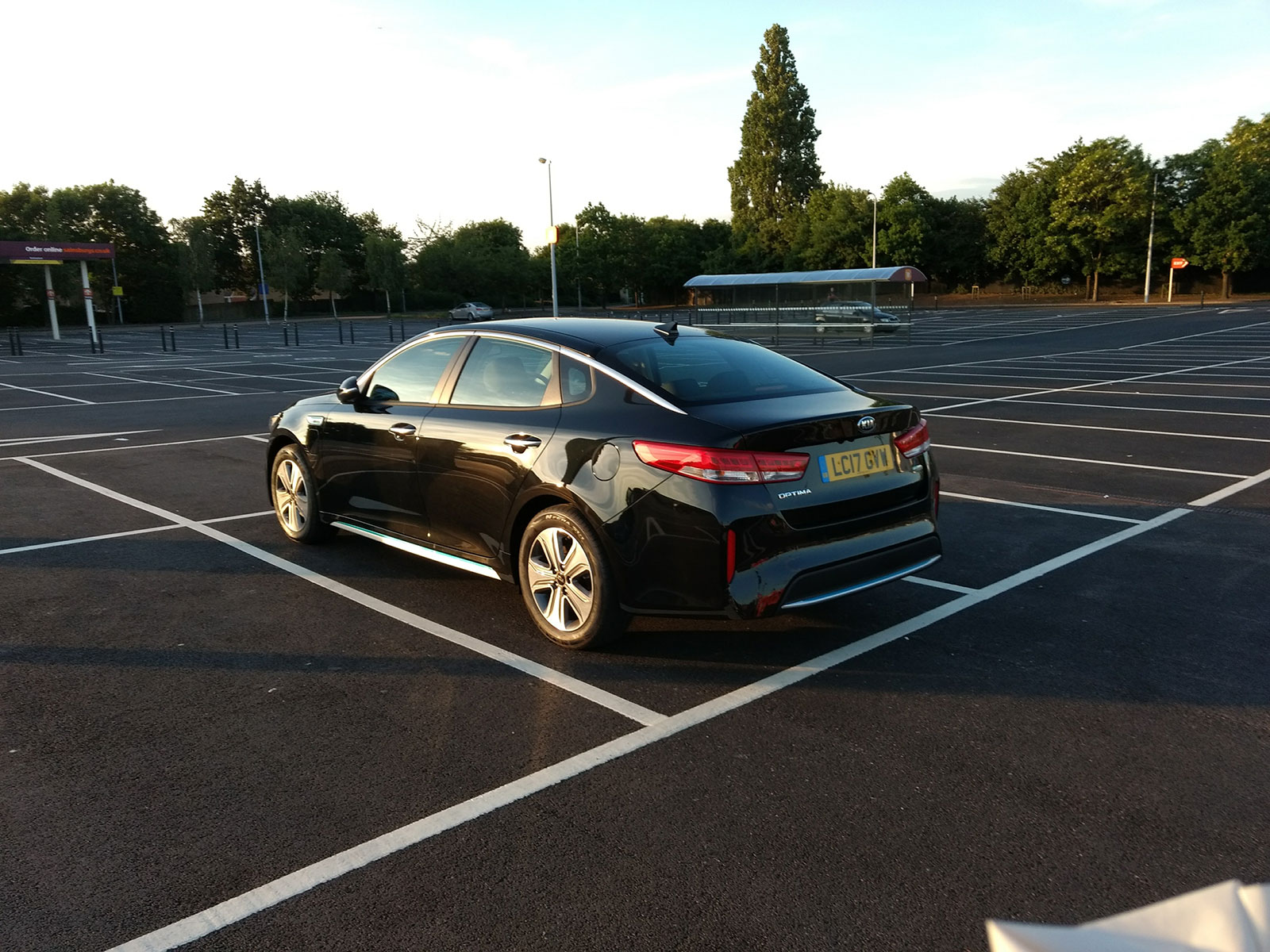 Kia Optima PHEV 6