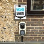 Best Western Plus Old Tollgate Hotel Electric charging point