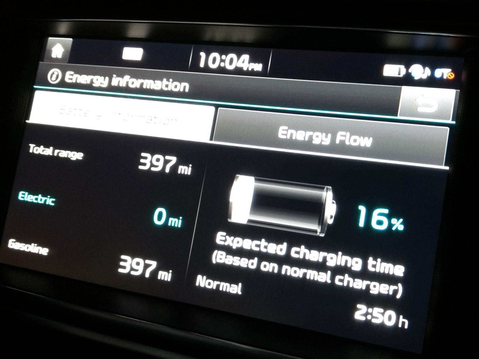 Kia Optima: Battery recharging