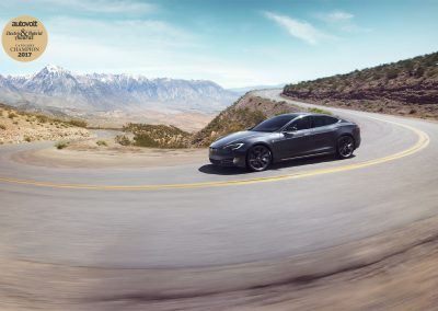 Autovolt awards 2017 Tesla Model S P100DL