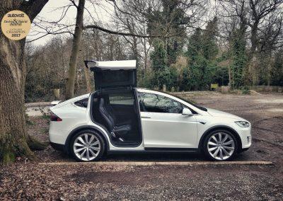 Autovolt awards 2017 Tesla Model X 75D