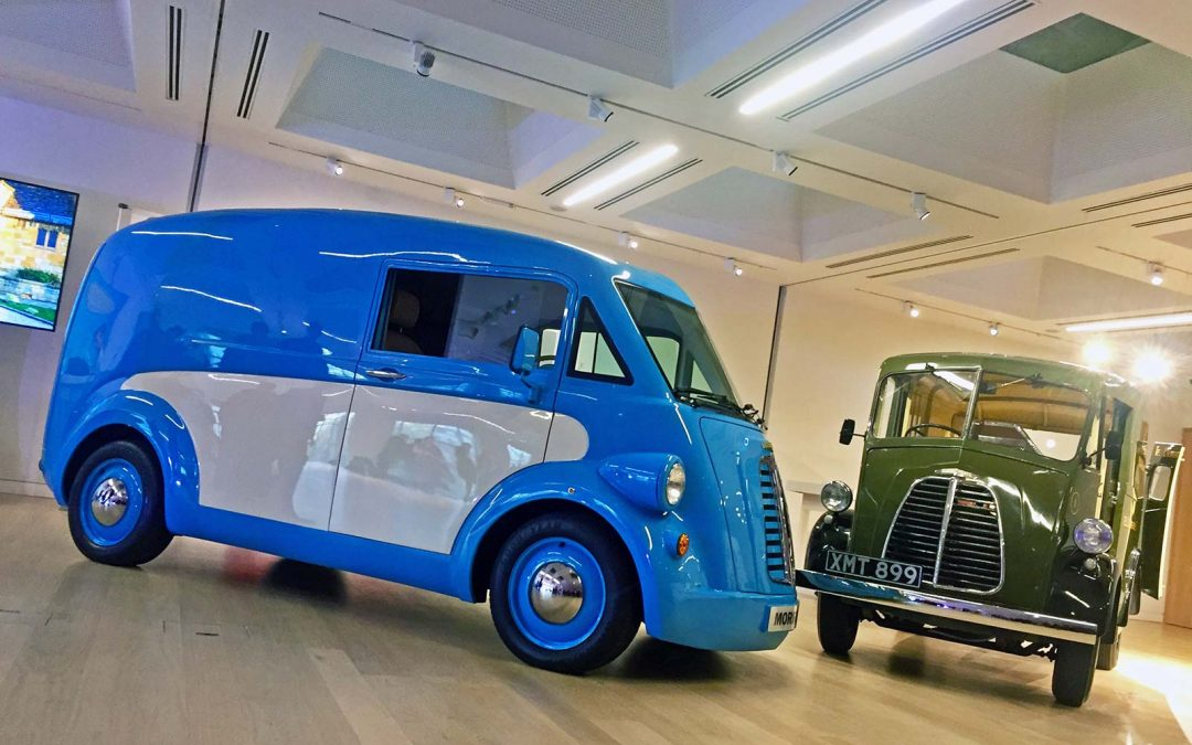 Morris Commercial delivers retro-styled electric JE van